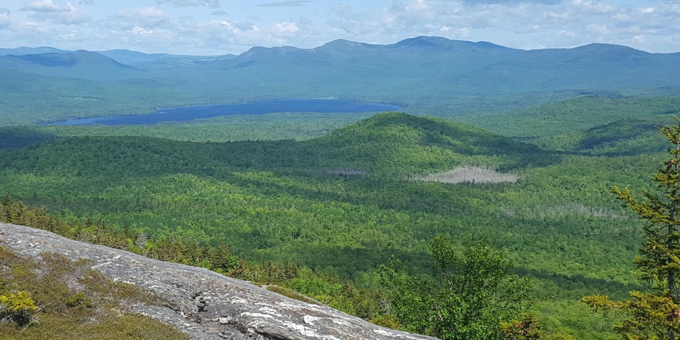View of Tumbledown Mountain, conserved with LMF support between 2001 and 2004
