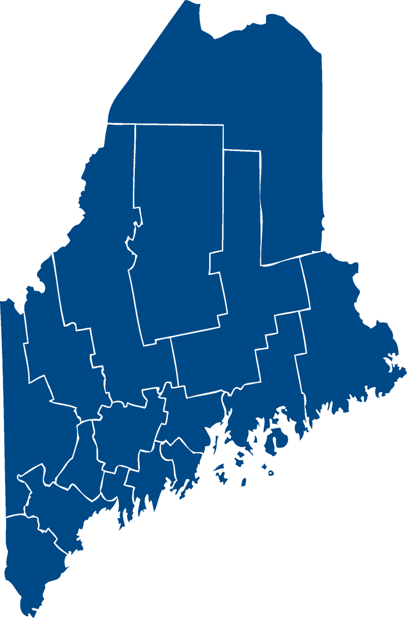 Maine Land Trusts by County